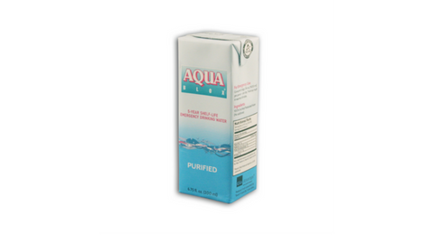 Aqua Blox Announces New 200ml 5-Year Shelf-Life Emergency Drinking Water Product