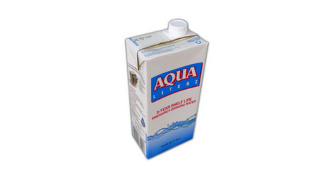 New Easy Opening Cap for Aqua Literz Emergency Drinking Water