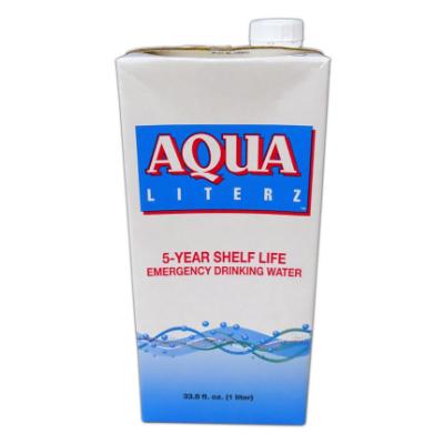 Aqua Literz Emergency Drinking Water