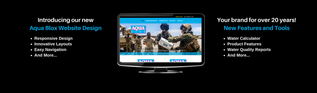 New Website Launched for Aqua Blox